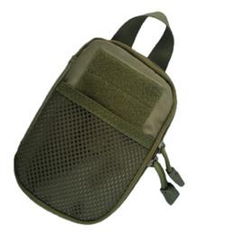Wholesale Molle Tactical Medical First Aid EDC Pouch Pocket Organizer Bag EMT W Belt Loop