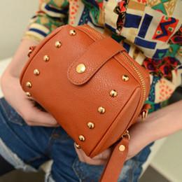 Acheter en ligne Caméras pour les filles-Vente en gros-Portable Femmes Filles Caméra Sac PU Cuir Shoulder Tote Cross-Body Handbag BAOK-3f35