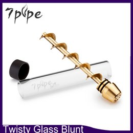 Wholesale New Twisty Glass Blunt Second Generation With Filter System And More Accessories Newest