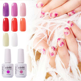 Wholesale Nail UV Liquid Arte Clavo Gelpolish Glitter Color Choose Any Color ml Nail Art Fashion Girl Led UV Gel Nail Polish