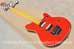 Vente en gros- Chine OEM Instruments de musique à bas prix Music Man Guitare 6 cordes Quilted Maple Top En Stock Pour la vente à partir de china stock guitare fabricateur