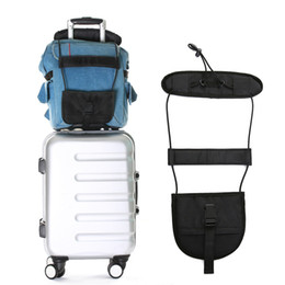 Outdoor Travel Luggage Bag Bungee Suitcase Adjustable Belt Backpack Carrier Strap