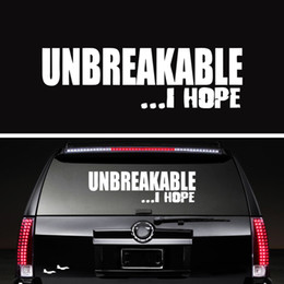 2017 windows racing Un casse-tête incroyable J'espère Funny Jdm Race Car Styling Car Truck Window Vinyl Decal Accessoires Graphiques Jdm windows racing ventes