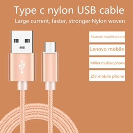 Metal Housing Braided Micro USB Cable Durable Tinning High Speed Charging USB Type C Cable with 10000+ Bend Lifespan for Android Smart Phone