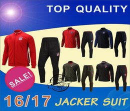 Wholesale Bayerns and Paris and AC Milans Soccer jacket Suit New Arrival Men Sports Set High Quality Soccer Jackets Soccer Pants Best Sweat Suits
