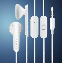 Honor AM110 stereo in-ear Earphone With Mic and voice control noise canceling earbuds For Huawei P7 P8 P9 7i 6 plus G7 G9 5S 6S.