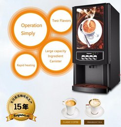 Wholesale large capacity tainless steel auto commercial coffee machine with different kinds cappuccino instant automatic coffee machine