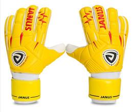 Professional soccer goalkeeper gloves soccer goalkeeper gloves thick latex finger guard detachable