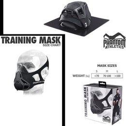 Wholesale 2016 NEW PHANTOM TRAINING MASK Outdoor Sport Mask High quality Training Boxing Phantom Athletics Training MaskFitness Supplies Equipment