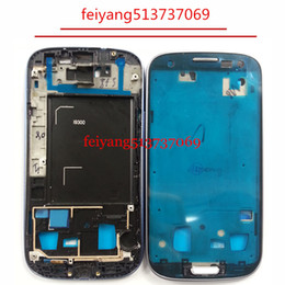 10pcs Original Middle Housing Chassis Bezel Plate Front Frame For Samsung Galaxy S3 i9300 i9305 i747 T999