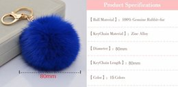 2016 Special Offer Men Packages Mailed 2017 Fur Lovely Hot Style Golden Metal Buckles 8 for Rabbit Ball Pendant Fashion Handbags Key Car