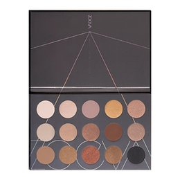 ZOEVA Nude Spectrum Eyeshadow Palette 15 Colors Eye Makeup SMOKY Eyeshadow Palette Matte Eye shaodw Palettes