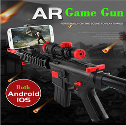 Free Shipping AR Game Gun Model Toy Guns with Bluetooth with WIFI Machine Game Gun Toy hot selling wholesale