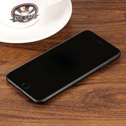 3g usb libre en venta-2017 Goofón I7 4.7 pulgadas Rom 12GB Ram 1GB MTK6580 Quad Core Smartphone 3G IPS pantalla desbloqueada teléfono móvil 128GB Falso 4G envío gratuito