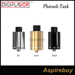 Wholesale Digiflavor Pharaoh Dripper Tank by RiP Trippers Project Spring loaded Two post Design with Clamp style Mechanism Slip plate Atomizer Genius