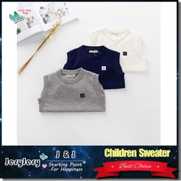 Wholesale Children Clothes Kids Boy Girl Unisex Clothing Fashion Design Warm Soft Crochet Cotton Outwear Sweater Jumper Pullover Cute Coat Years