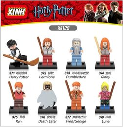 Wholesale 2016 Xinh Harry Potter Friends Hermione Jean Granger Ron Weasley Lord Voldemort Minifigures Building Blocks Toys X0129