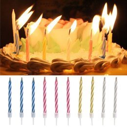 Magic Relighting party Candles With Holders Fool's Day Happy Birthday Creative Candles,BUY MORE GET MORE FREE!!!