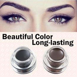 Wholesale Best Seller in Brown Black Gel Eyeliner Make Up Waterproof Freeshipping Cosmetics Set Eye Liner Makeup Eye