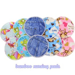 Wholesale Nursing Pads Printed Soft Washable Breast Pads Pregnant Spill Prevention Breast Feeding Nursing Pads For Mom