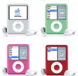 Promotion nouveaux écrans lcd Brand New 8 Go Slim MP4 Player 3ème 1.8 pouces Digital LCD Ecran Music FM Radio Video Game Movie Player Livraison gratuite