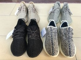 Wholesale DHL Shipping best pattern shape boost kanye west Pirate Black Moonrock OxfordTanTurtle Dov e fast delivery the same as the pictures