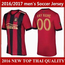 Wholesale top quality Atlanta United FC soccer jerseys Atlanta United FC Men camisas de futebol Football shirts Customize names and numbers