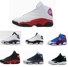Air Rétro 13 XIII il a obtenu le jeu noir blanc chaussures femmes hommes basket-ball chaussures pas cher baskets classiques colorway Chaussures de sport enfants à partir de classique pour les jeux d'enfants fabricateur