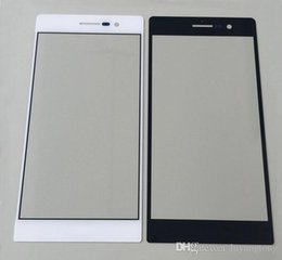 Huawei P9 Replacement LCD Front Touch Screen Glass Outer Lens for Huawei p6 p7 p8 outer glass Free Shipping