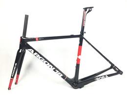 Wholesale Argon18 Gallium pro BORAMAN Carbon Road Bike Frames Bicycle Frameset BB86 S M L frame fork seat post headset bicicleta carbono bici telai