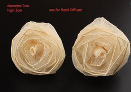 ReedDiffuser Hand-made dried flowers Essential oils infiltrate Vanilla Flower