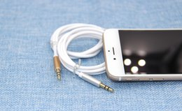 Wholesale For Apple Iphone mm Aux Audio Cable Male To Male Stereo Car Extension Audio Cable