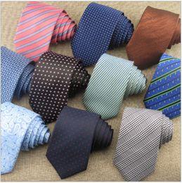 Men's business attire tie Korean edition fashion trend polyester silk tie