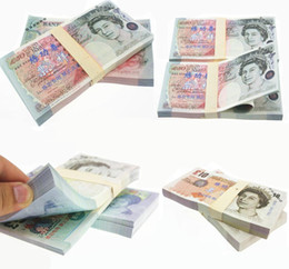 Wholesale 5 Pound Dollar Paper Money Bank Practice Notes Training Collect Learning Banknotes