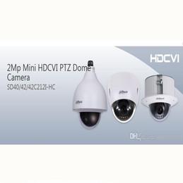 Ptz 12x en Línea-DAHUA IP66 (al aire libre), IK10, OSD 2Mp Mini HDCVI PTZ cámara domo 1080P HDCVI 12X PTZ cámara DAHUA SD40212I-HC