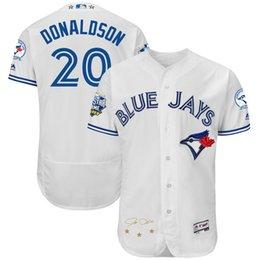 2016 Majestic Toronto Blue Jays Josh Donaldson Men's Game Cool Base Player Jersey Baseball Jerseys free shipping