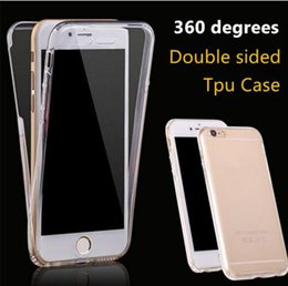 360 Degree Full Body Soft TPU Phone Case Front Back Cover Touch Clear Protector for iphone XS MAX XR X 7 8 6 plus Samsung S9