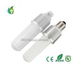 Promotion e27 smd ce 2835 SMD LED Corn Light E27 G24 8W 9W 44 Corns Lampe à ampoules CE ROSH UL Blanc chaud / Cool blanc Éclairage