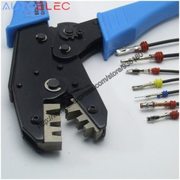 Wholesale 929939 Automotive Terminal Ratchet Crimping Tool Pliers Crimps with Wire seal Waterproof connector for Molex DELPHI tyco AMP