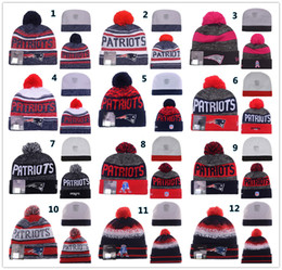 Wholesale Sport KNIT PATS NEW ENGLAND PATRIOT Beanies Team Hat Winter Caps Popular Beanie Sports Clubs Fix New season Gift Present