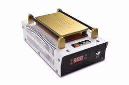 Wholesale 2016 LCD Repair machine Built in Vacuum Pump LCD Separator machine for max inch LCD screen panel refurbish DHL free