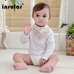 Cotton kids Triangle Bibs Bandana Burp Cloths Baby Cotton Kerchief Infant Saliva Bibs Pinafore Apron Baby Feeding