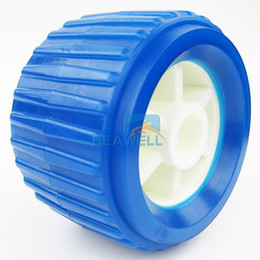 Wholesale PVC Soft Boat Trailer Ribbed Wobble Roller mm