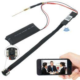 WIFI 1080P HD SPY DVR Caméra cachée IR Night Vision LED Caméra Module DIY Enregistreur vidéo cam caméra de sécurité sans fil + batterie 4000mah à partir de hd sans fil pour la vidéo fabricateur