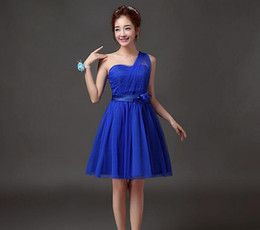 Bridesmaid dress 2016 new short paragraph banquet costumes bridesmaid dress short paragraph Europe and the United States toast to serve even