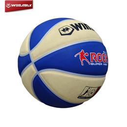 Wholesale WINMAX Best PU Basketball Games Official Size Basket Ball Sport Outdoor Rubber A brand new Men