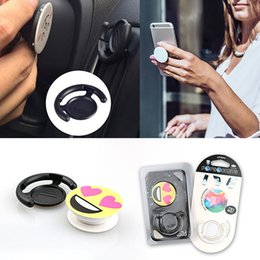 Wholesale PopSockets Clip Stand and Grip Mount Pop socket Combo for iPhone Car Holder Tablets Bracket Phone Holder for Iphone MOQ