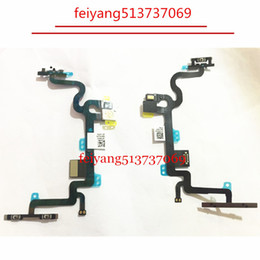 "100pcs Original NEW or High quality For iPhone 7 4.7"" Power on off & Volume Button Connector Flex Cable Ribbon Replacement Part"