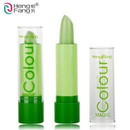Magic Colour Temperature Change Color Lip balm Moisture Anti-aging Protection Lips 3.2g Makeup Brand HengFang