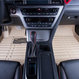 High - quality car floor leather materials car carpet mats automotive interior parts multi - color waterproof car mats